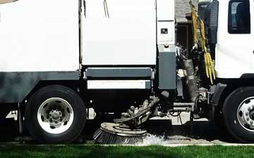 Parking Lot Sweeping Service Orange County